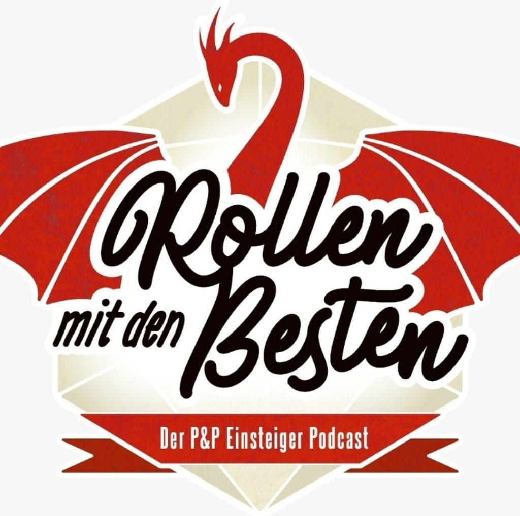 """Logo des Podcast """"Rollen mit den Besten"""""""