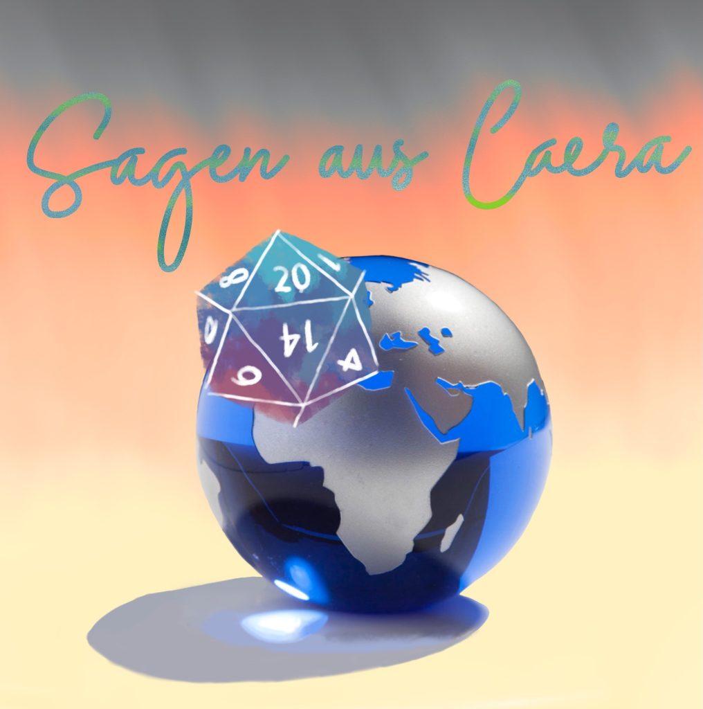 """Logo des Podcast """"Sagen aus Caera"""""""